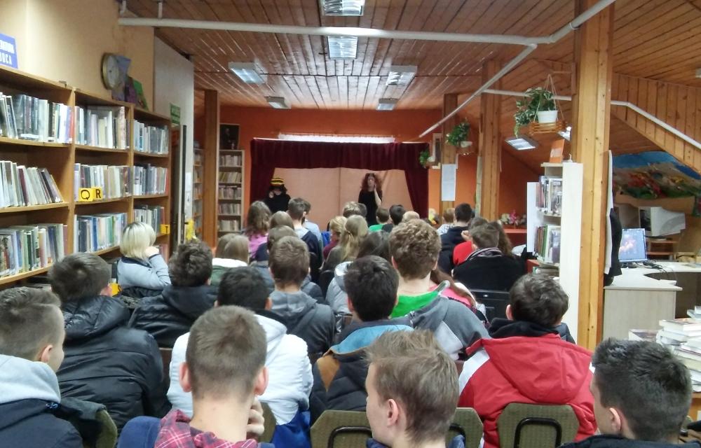 Biblioteka w Duchnowie, foto: IR