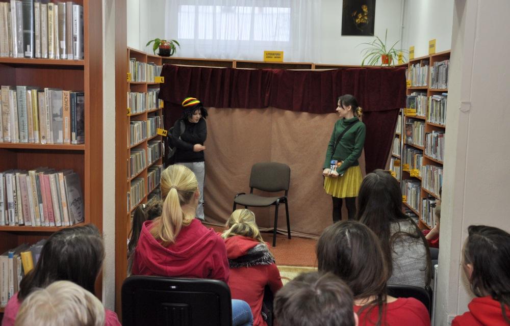 Biblioteka w Gliniance, foto: JF