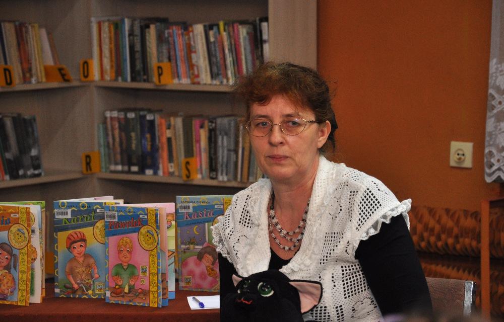 Barbara Ciemska to autorka książeczek edukacyjnych dla dzieci